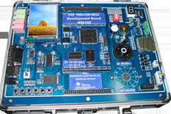 برد آموزشی پروسسورهای DSP سری (TMS320F2812(C2000 مدل NSK132