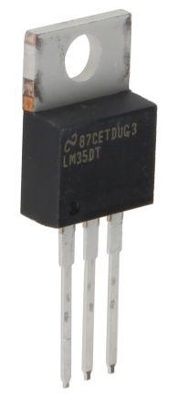 Temperature Sensor Precision Centigrade Temperature Sensors (Temperature Range 0  to +100 ) , 3-Pin TO-220